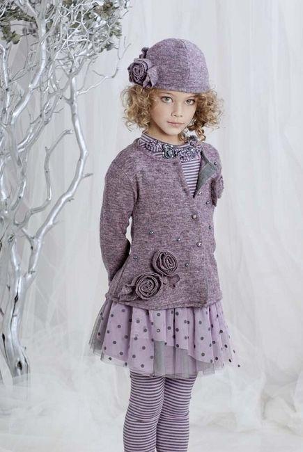 مدل لباس پاییزی دختربچه2018-2019