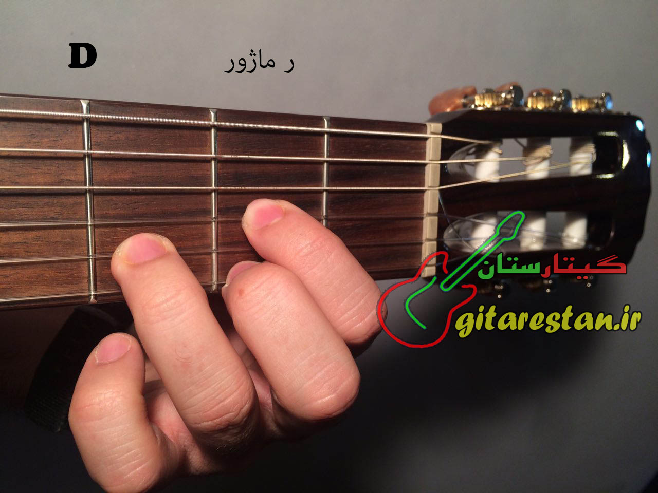 آکورد ر ماژور - گیتارستان