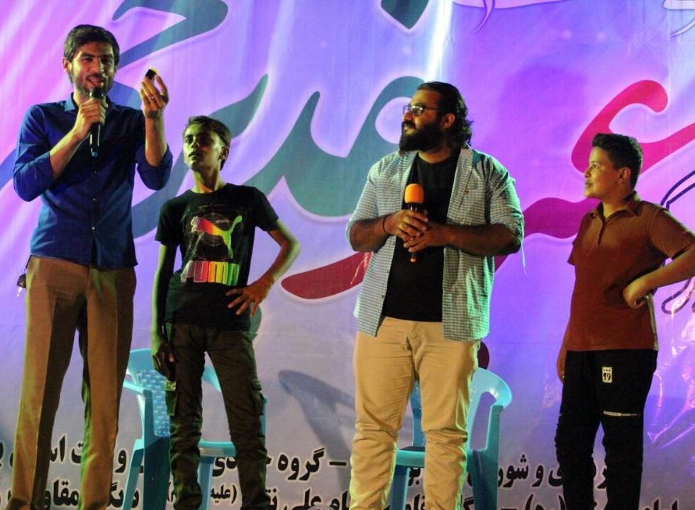 برگزاری جشن عید سعید غدیر در پارک بزرگ شهر بوشکان+تصاویر