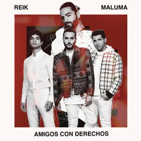 دانلود آهنگ Amigos Con Derechos از Maluma و Reik | با کیفیت 320 و 128