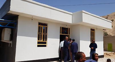 افتتاح همزمان ۲۳ واحد مسکن دو معلولی در شهرستان مهر