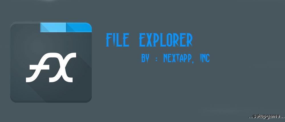 دانلود File Explorer 7.2.2.1 - فایل منیجر قدرتمند و همه کاره اندروید