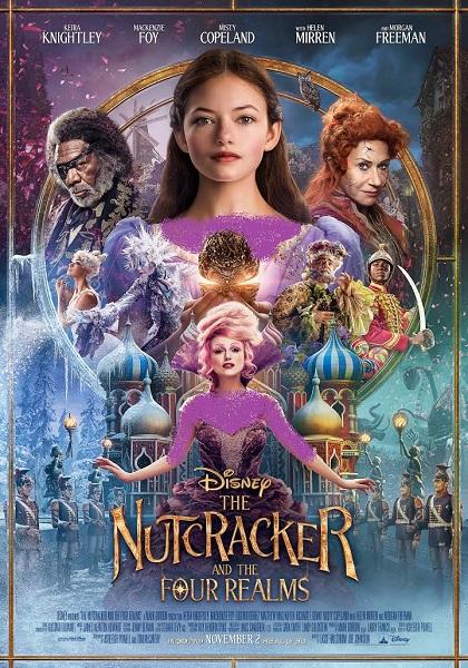 دانلود فیلم فندقشکن و چهار قلمرو The Nutcracker And The Four Realms 2018