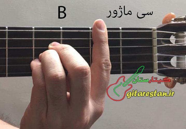 آکورد سی ماژور - گیتارستان