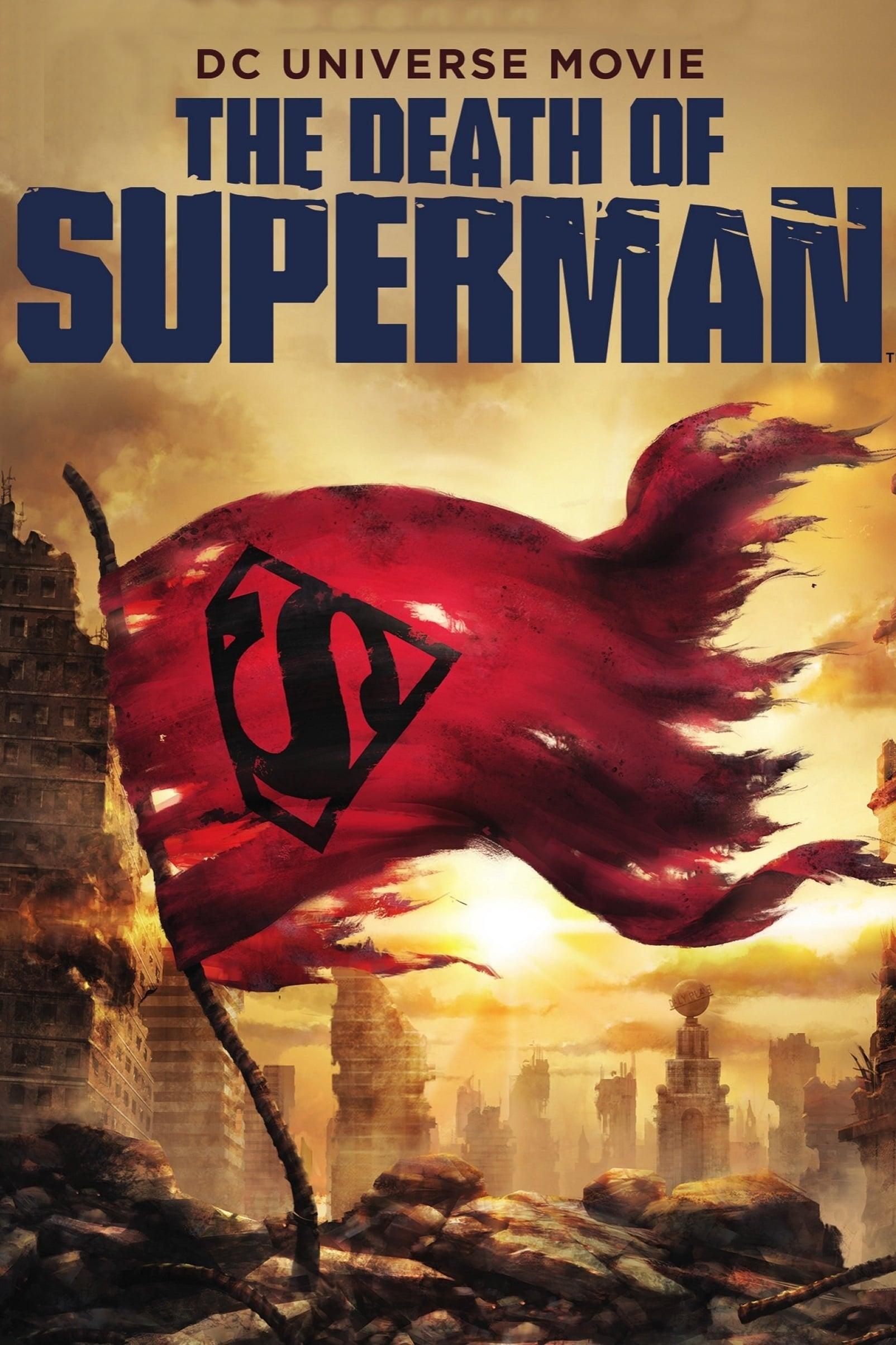 دانلود انیمیشن The Death of Superman 2018 دوبله فارسی دو زبانه