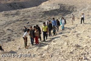 مردم روستای پاقلات در طرح جنگل یاری شرکت کردند