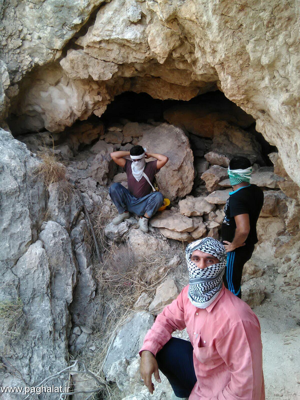 کشف غار جدید توسط سبزگستران پاقلات