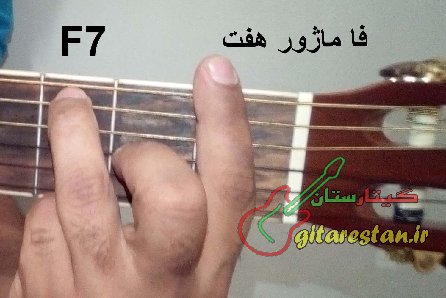 آکورد فا ماژورهفت - گیتارستان