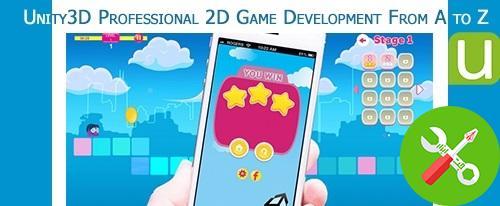 طراحی بازی های دو بعدی با unity 3d