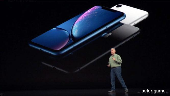 گوشی iPhone Xr با نمایشگر 6.1 اینچی و Face ID معرفی شد؛ مشخصات، قیمت و زمان عرضه جانشین آیفون 8