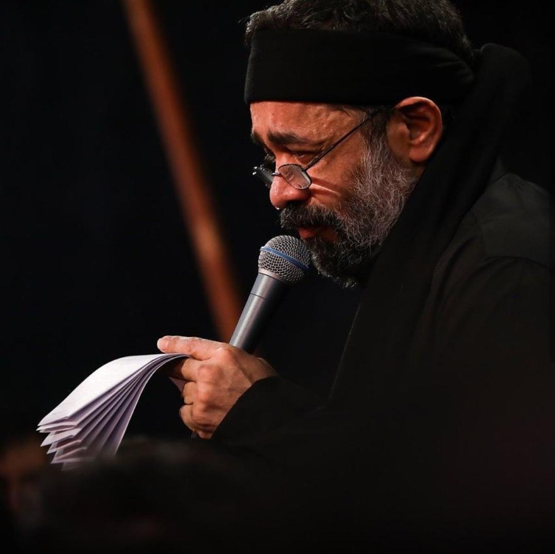 مداحی حاج محمود کریمی (شب عاشورا محرم 97)