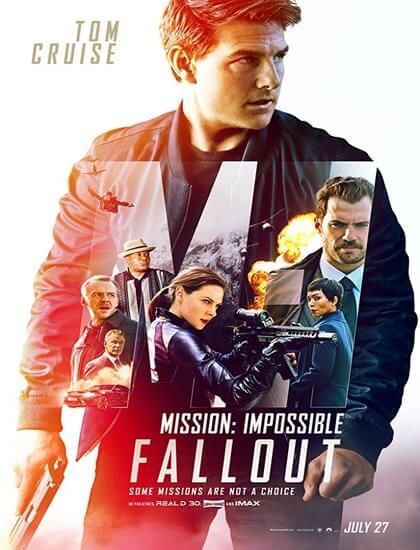 دانلود رایگان فیلم ماموریت غیرممکن 6 Mission Impossible Fallout 2018