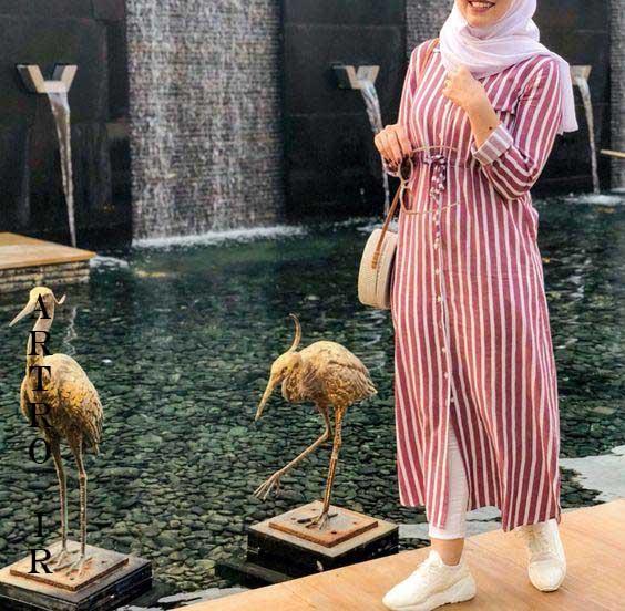 مانتو بلند زنانه ایرانی,