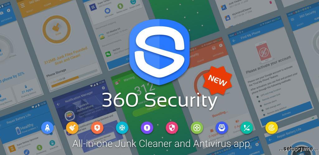 دانلود A 360 Security - Free Antivirus, Booster, Cleaner 5.0.6.3505 - نرم افزار امنیتی و انتی ویروس قدرتمند 360 سکیوریتی اندروید !