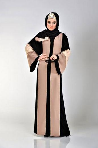 مدل مانتو بلند عربی شیک,