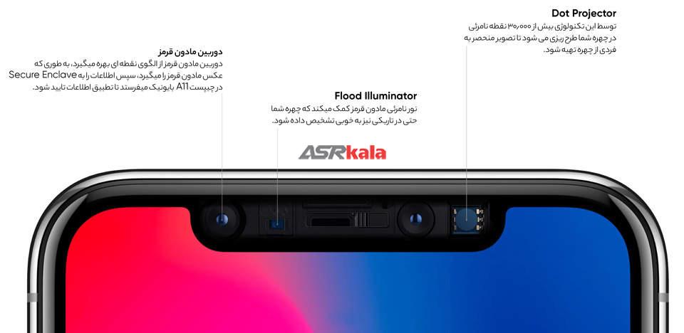 گوشی موبایل اپل آیفون 10