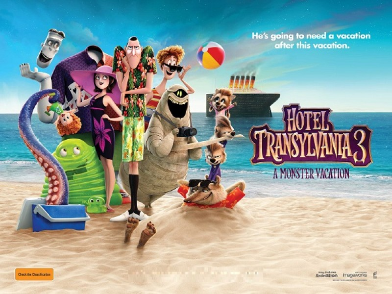 دانلود انیمیشن Hotel Transylvania 3 Summer Vacation 2018