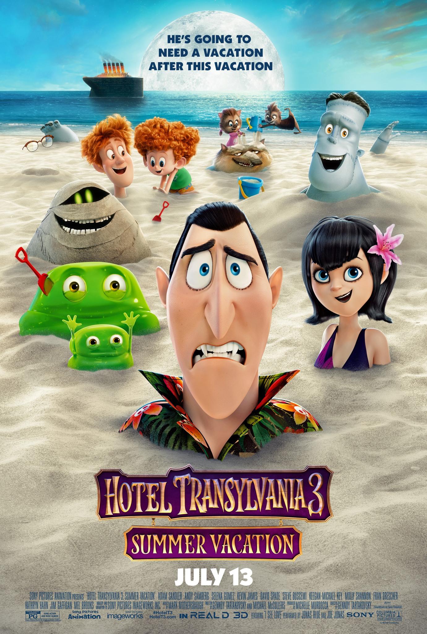 دانلود انیمیشن جدید Hotel Transylvania 3: Summer Vacation 2018