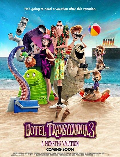 دانلود رایگان انیمیشن هتل ترانسیلوانیا 3 2018 Hotel Transylvania