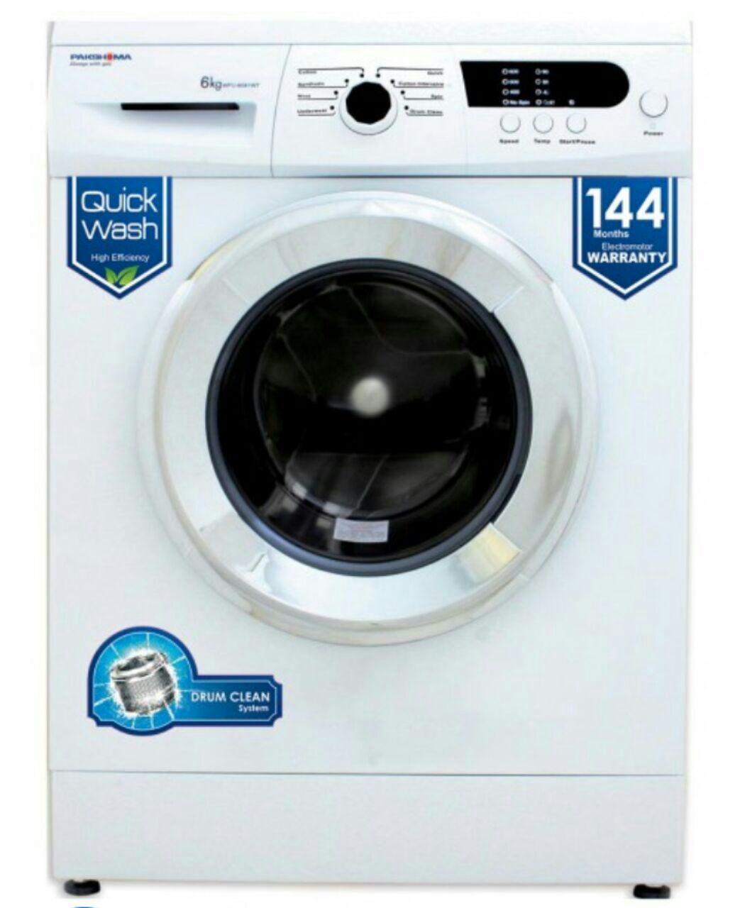 ماشین لباسشویی پاکشوما 6 کیلو 1000 دور