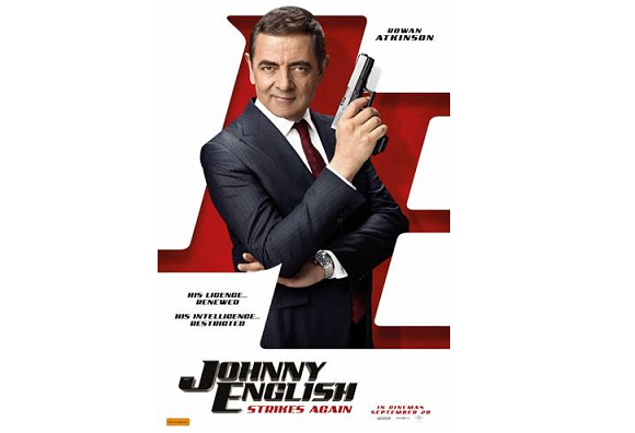 دانلود فیلم Johnny English Strikes Again 2018