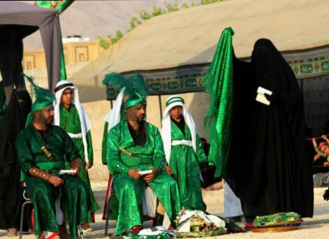 تصاویر تعزیه روستای پاقلات