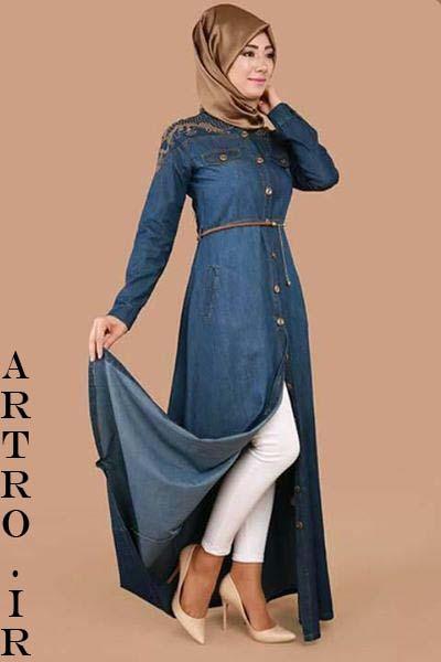 جدیدترین مدل مانتو جین دخترانه2