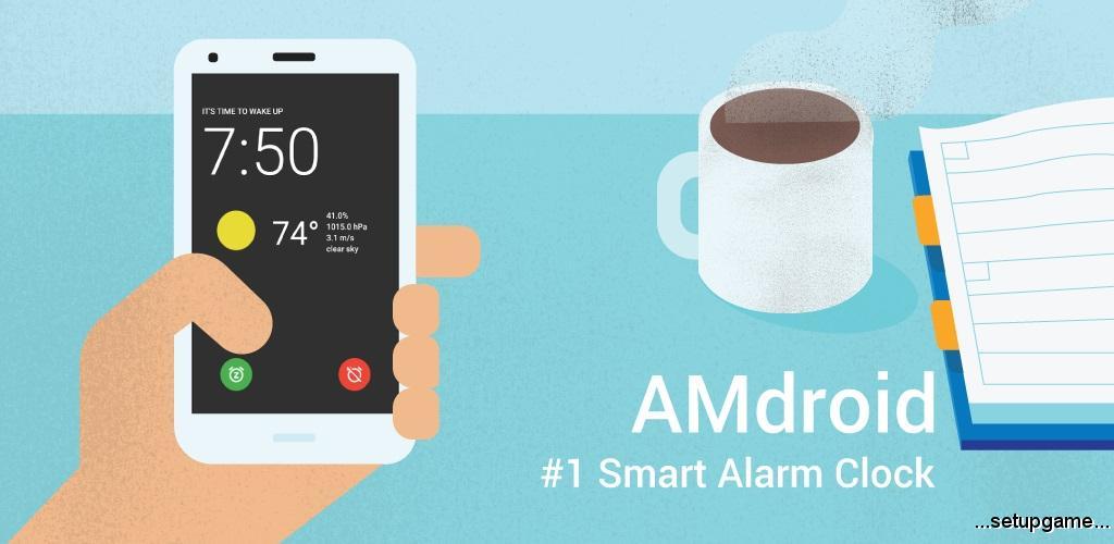 Alarm Clock for Heavy Sleepers دانلود Alarm Clock for Heavy Sleepers Full 3.7.0 - ساعت زنگ دار برای خواب سنگین اندروید + مود