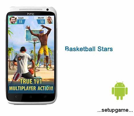 دانلود بازی ورزشی بسکتبال Basketball Stars 1.18.0 – اندروید