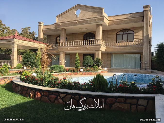 فروش باغ ویلا در شهریار کد 204 املاک بمان