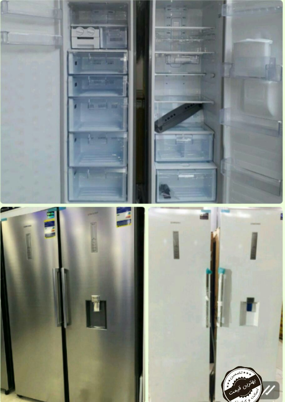 یخچال فریزر دوقلو بدون برفک سامسونگ اینورتر