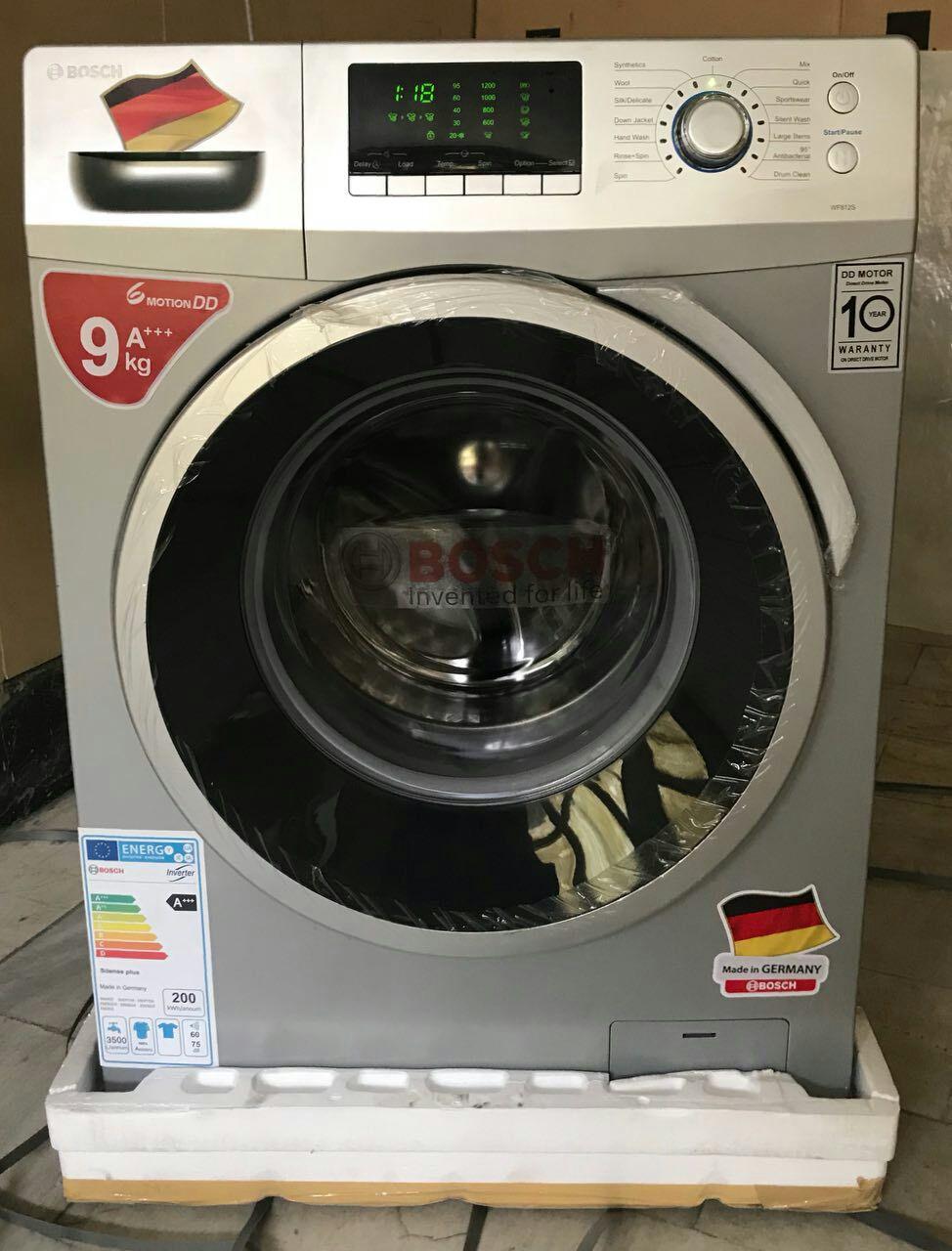 ماشین لباسشویی 9 کیلو 1400 دور بوش
