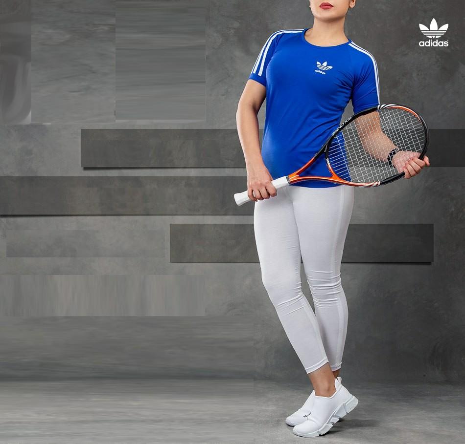 ست تیشرت و شلوار زنانه Adidas مدل Z8095 با تخفیف 45000 تومان