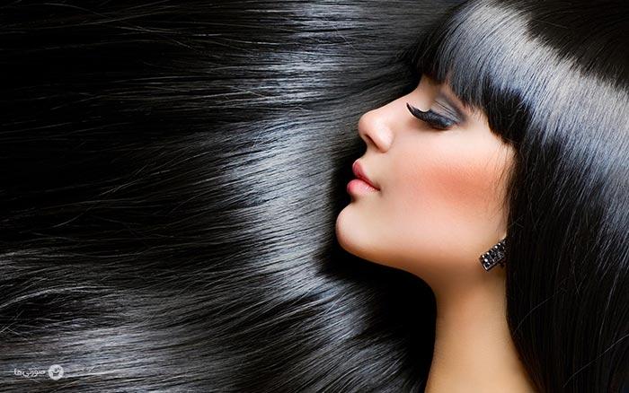 شکستن مو در زمستان
