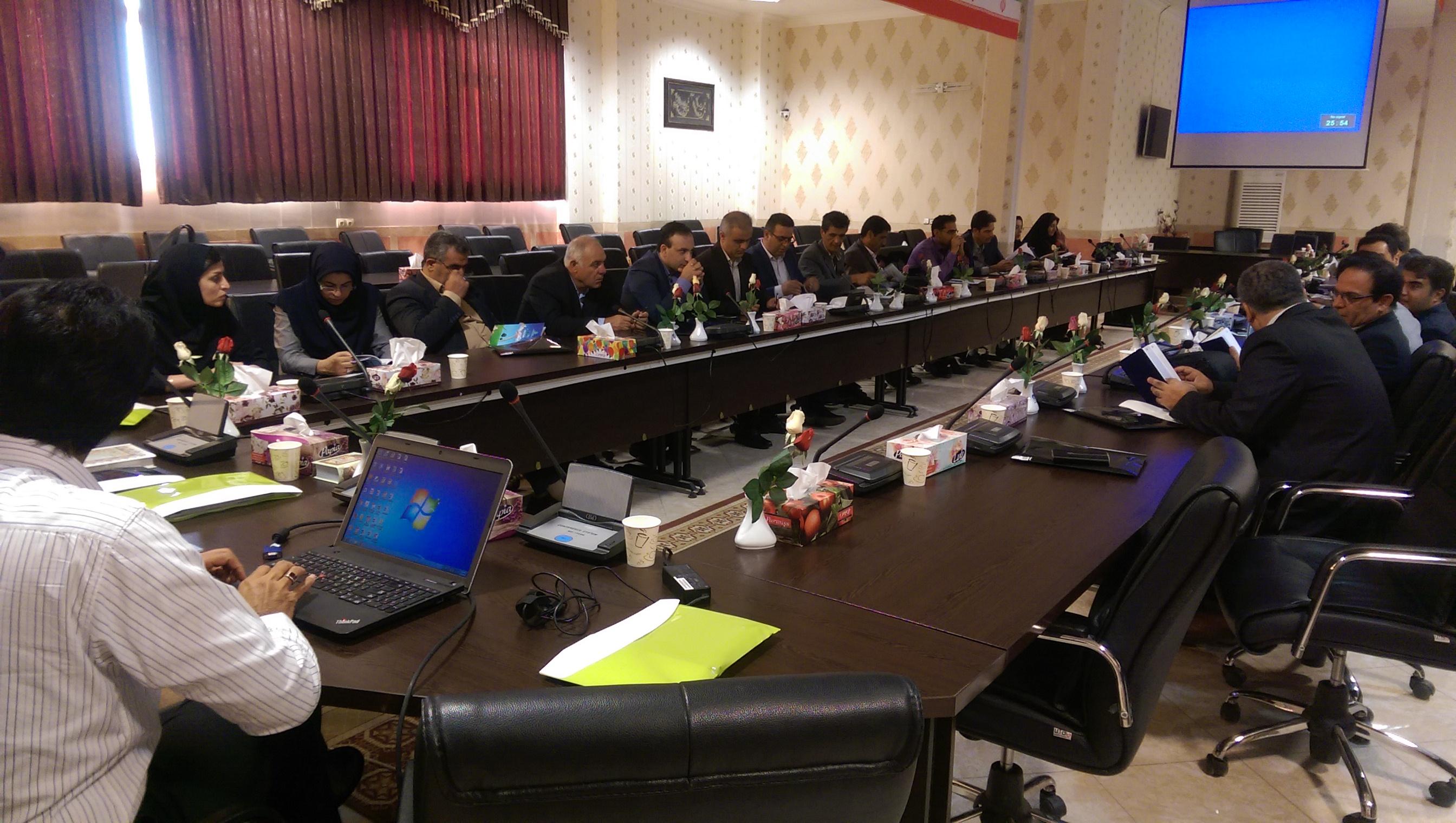 نشست برنامه ریزی اجرای برنامه های مدیریت جامع تالاب های کشور، دبیرخانه های مدیریت زیست بومی
