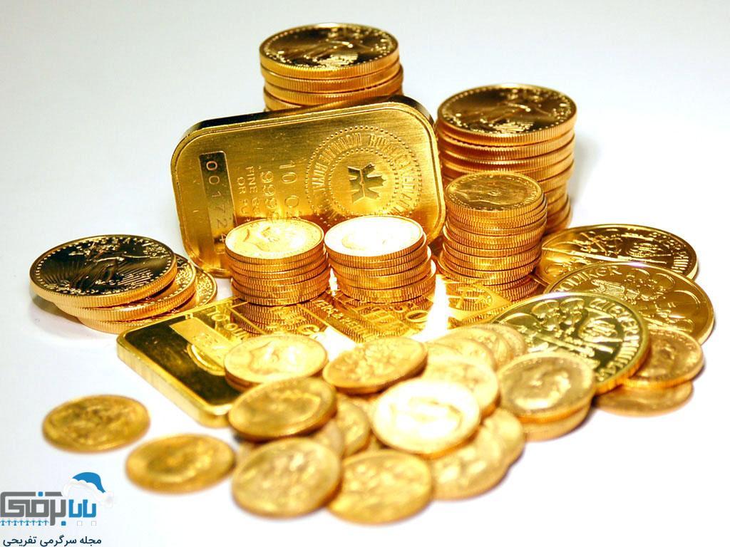 قیمت روز سکه و طلا در بازار ایران