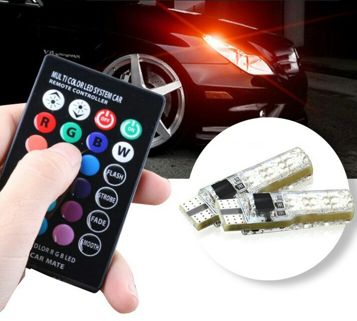 لامپ خودرو مدل Multi Color با تخفیف 49,000 تومان