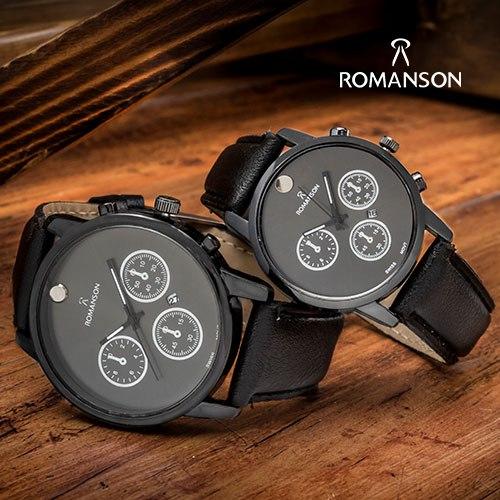 ست ساعت مردانه و زنانه Romanson مدل W9906 با تخفیف 85,000 تومان