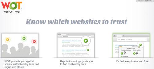 نرم افزار امنیتی WOT مخصوص انواع مرورگرهای اینترنتی - به کدام وبسایت اعتماد کنیم
