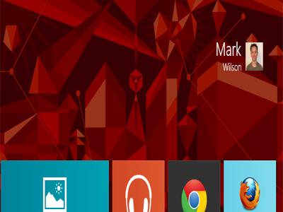 چگونه نام کاربری خود را بر روی صفحه ی آغازین Windows 8 تغییر دهیم