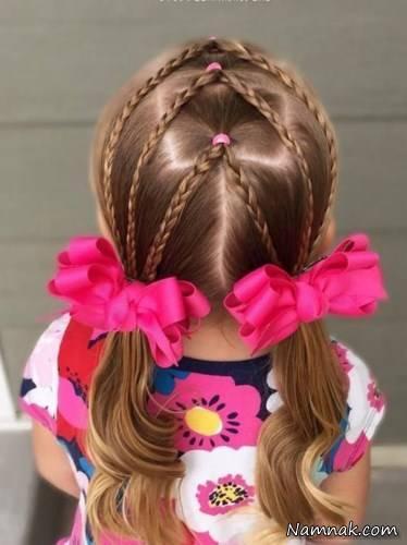 مدل بافت مو برا دختر بچه3