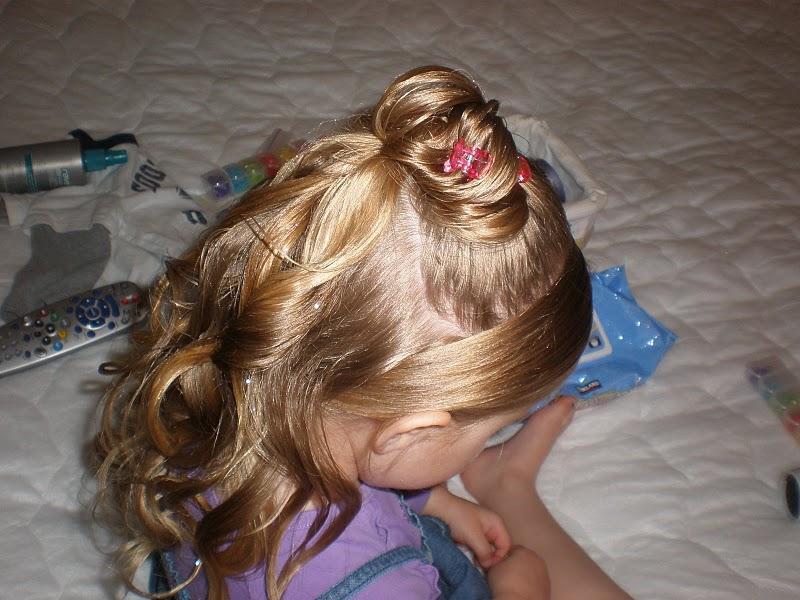 مدل بافت مو برا دختر بچه1