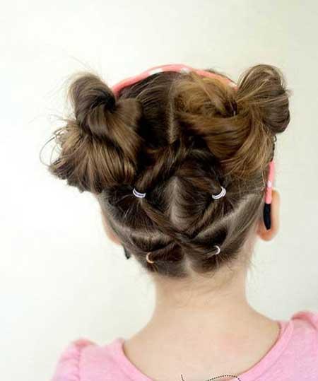 مدل بافت مو برای دختربچه