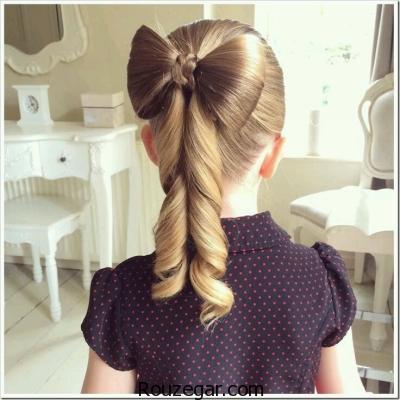 مدل بافت موی دختر بچه ها