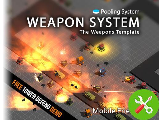 پروژه کامل یونیتی Weapon System