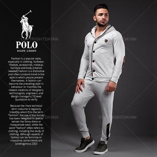 فروش ست سویشرت و شلوار مردانه Polo مدل S2378