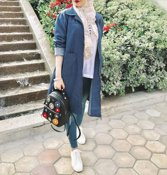 مدل مانتو لی دخترانه اسپرت