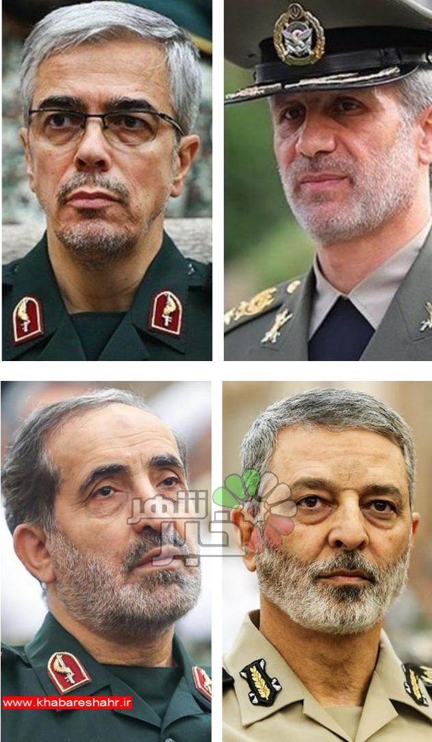 وعده ۴ فرمانده برای ادامه انتقام