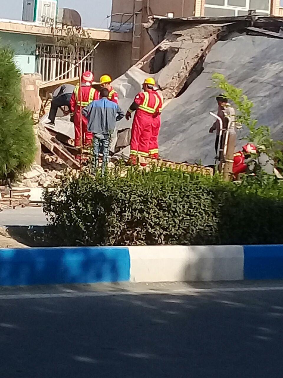 مهار آتش در محله جوقین