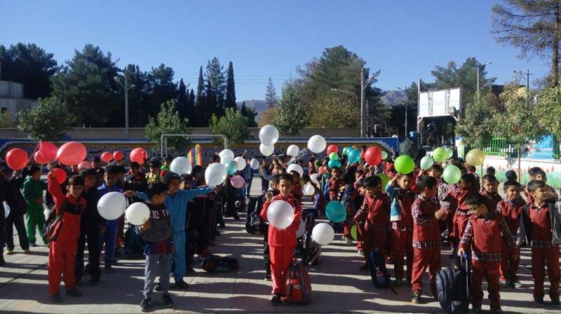 روز جهانی کودک در دبستان علامه حلی 1 دوره اول گرامی داشته شد